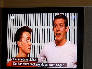 On Danish television