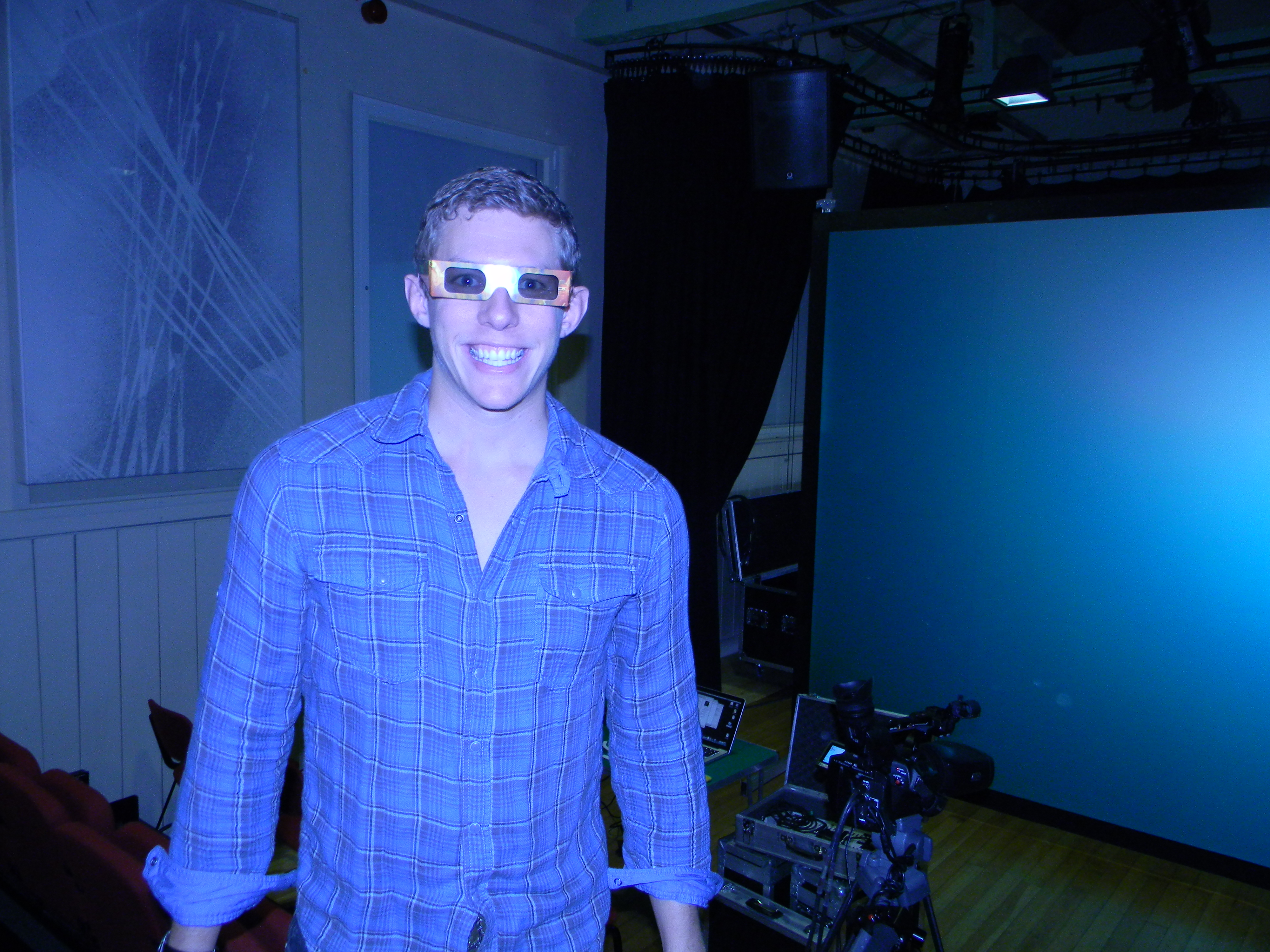 Rehearsing the new 3D show