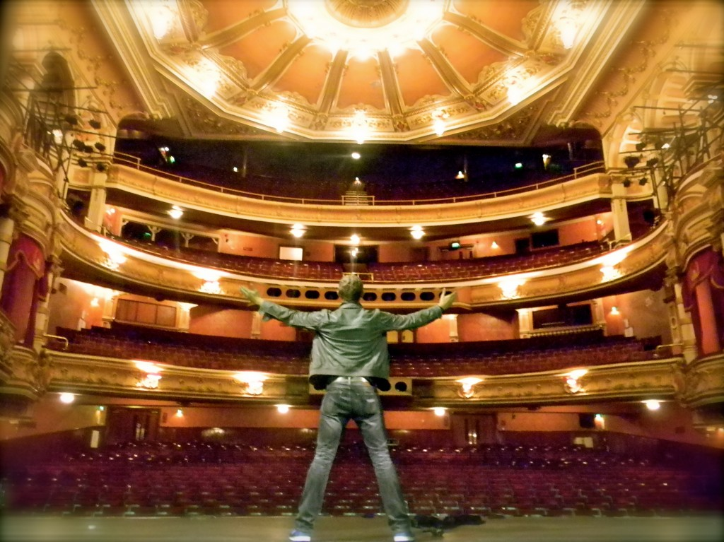 At The Kings Theatre In Glasgow Scotland Rich Binning